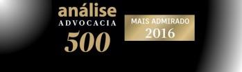 Marcos Joaquim Gonçalves Alves é premiado pelo anuário Análise Advocacia 500 em duas categorias